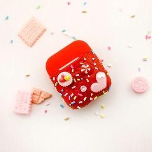 Heart sprinkles AirPod case